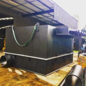 HDPE Storm Water Tank