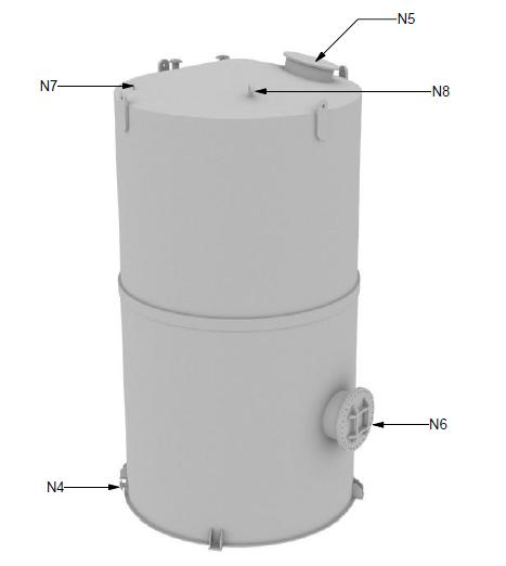 Custom Chemical Storage Tanks